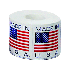 Country of Origin shipping label