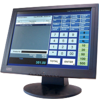Logic Controls Touch screen Monitor