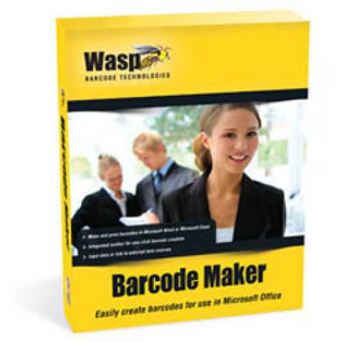 633808105174 - Wasp BarcodeMaker Bar code Software