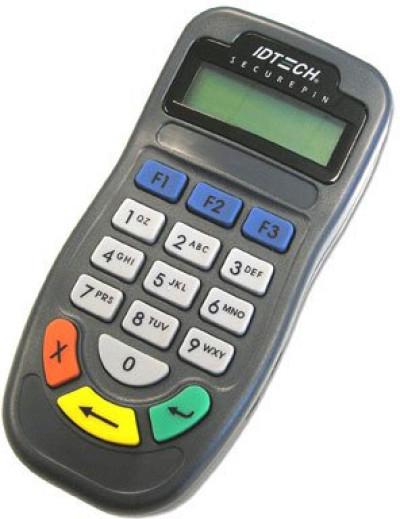 ID Tech SecurePIN Payment Terminal