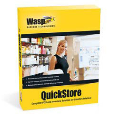 Wasp QuickStore Point of Sale Software