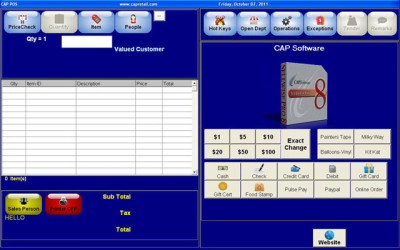 CAP Software SellWise Point of Sale Software