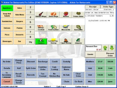 102 - Aldelo Aldelo for Restaurants Lite POS Software