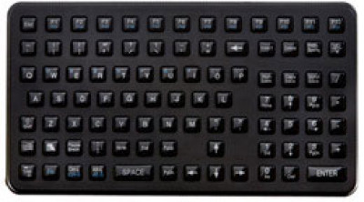 6-02-00021 - Glacier Epoxy Coated Rugged Keyboard, No Pointer