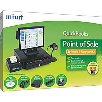Intuit QuickBooks Point of Sale Pro POS Software
