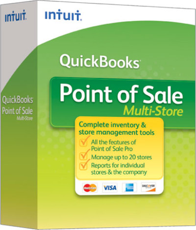 Intuit QuickBooks Point of Sale Multi-Store POS Software