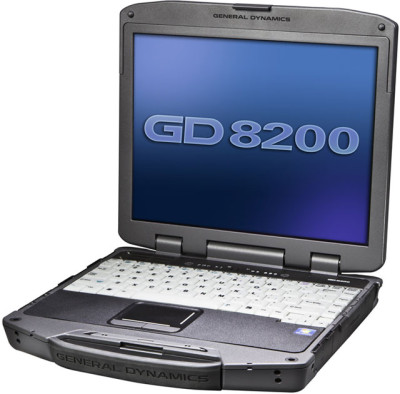 Itronix GD8200 Rugged Notebook Computer