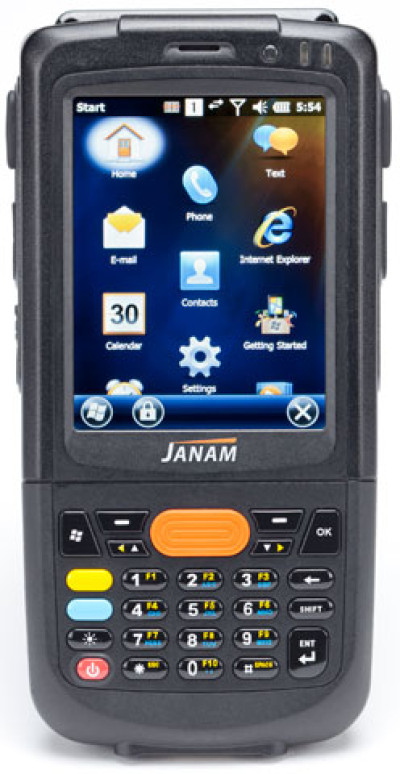 Janam XM2-RFID for Rail RFID Reader