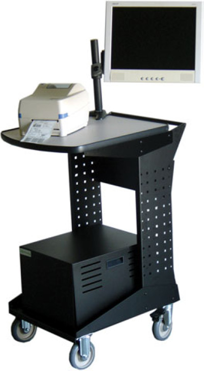 RC200 - Newcastle Systems RC Series Utility Workstation Mobile Cart