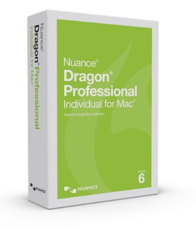 Nuance Dragon Professional Individual Mac V6 Communication System