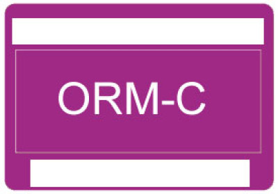 O33 - Other Regulated Material ORM-C Shipping Label