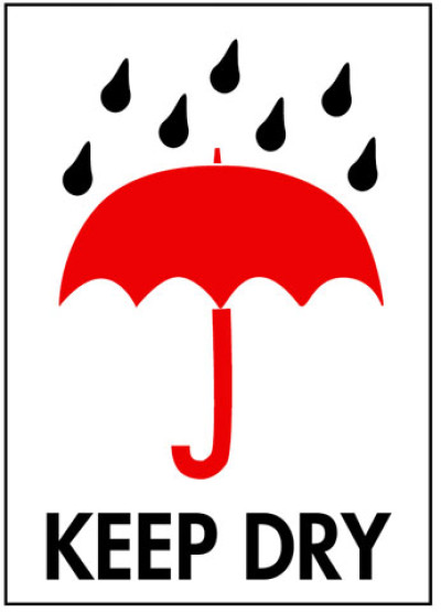 P3 - Packing Keep Dry Shipping Label