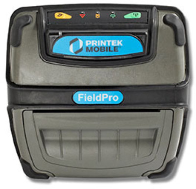 91847 - Printek FieldPro RT43 Bluetooth with Magnetic card reader Portable Bar code Printer