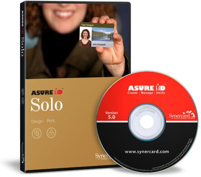 Synercard Asure ID Solo ID Card Software
