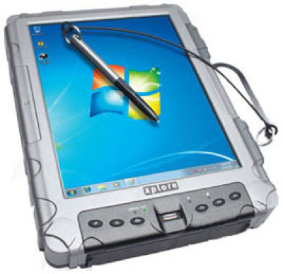 Xplore iX104C5 DMCR (Dual-Mode Clean Room) Tablet Computer