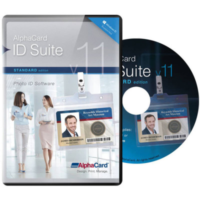 ACIS-S10 - AlphaCard ID Suite Standard v1.0 ID Card Software