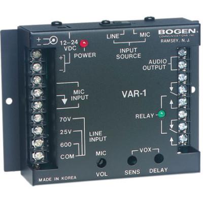 VAR1 - Bogen VAR1 Voice-Activated Relay