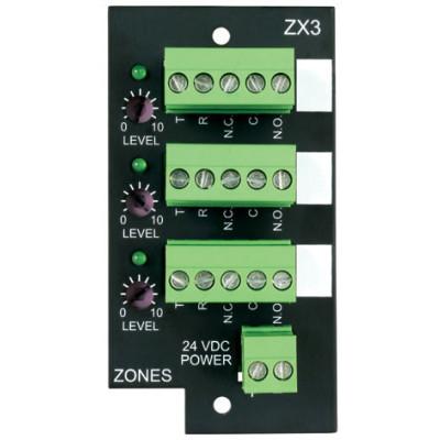 ZX3 - Bogen ZX3 3-Zone Expansion Module