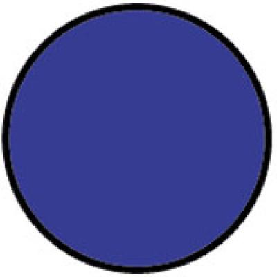 1413LB - Circle Light Blue Shipping Label