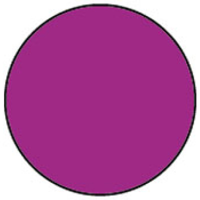 1413PU - Circle Purple Shipping Label
