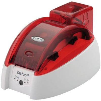 TTO201FRH-M - Evolis Tattoo 2 Plastic ID Card Printer