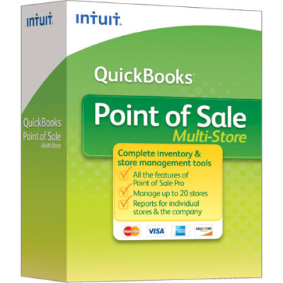 POS-PRO-UNLOCK-TO-MULTI-STORE - Intuit QuickBooks Point of Sale Multi-Store POS Software