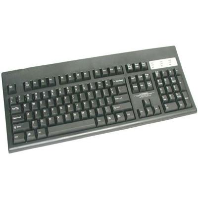KSI-1104ICPS-BL - KSI 1104 POS Keyboard