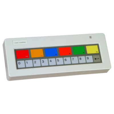 KB1700U-B-BK - Logic Controls KB1700 Programmable Keypad POS Keyboard