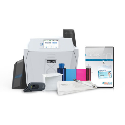 HELIX-SINGLE-SIDE-SYSTEM - Magicard Helix ID Card System Plastic ID Card Printer