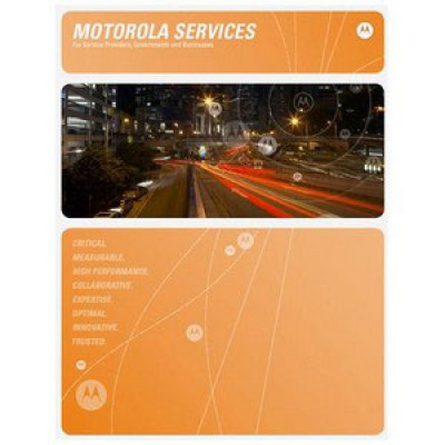 SSB-RD5000-30 - Motorola Service Contract - 3 year Service Contract