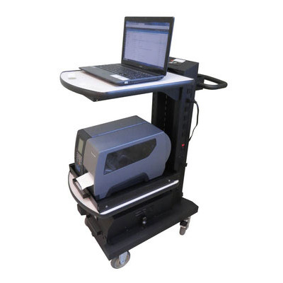NB300NU2-S - Newcastle Systems NB Series SLIM Mobile Cart