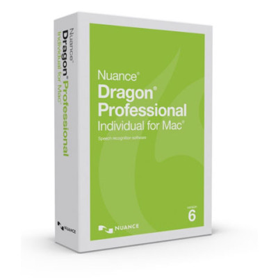 S681A-K1A-6.0 - Nuance Dragon Professional Individual for Mac V6 Communication System