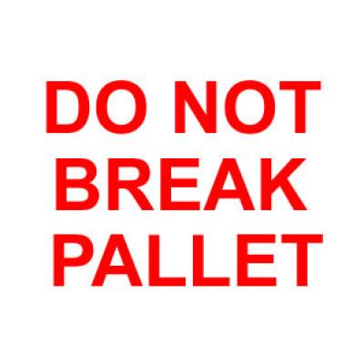 F9 - Packing Do Not Break Pallet Shipping Label