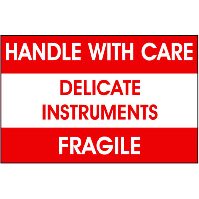 W5 - Packing Delicate Instruments Shipping Label