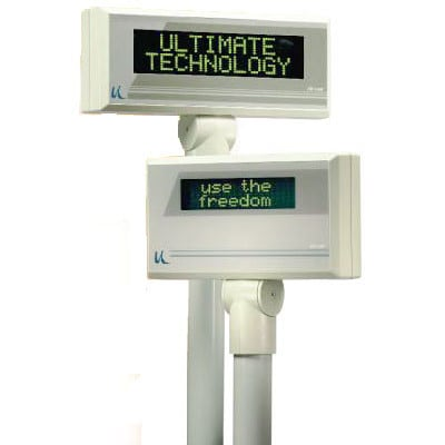 PD1100S-10819 - Ultimate Technology PD1100 Customer & Pole Display
