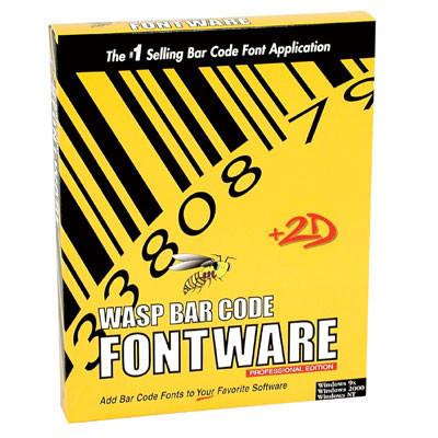 633808063016 - Wasp Barcode FontWare Bar code Software
