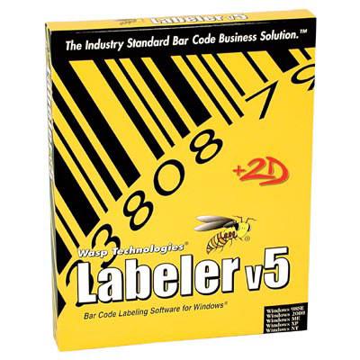 633808105013 - Wasp Barcode Labeler Bar code Software
