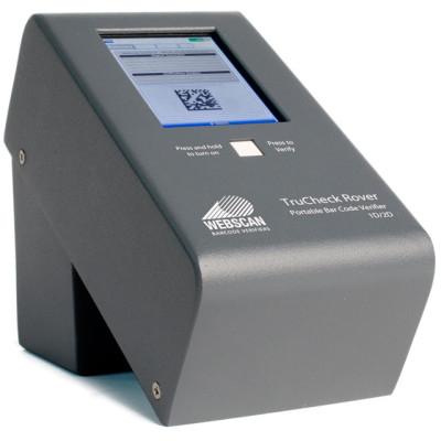 DMV-TC501-R-01 - Webscan Bar code Verifier