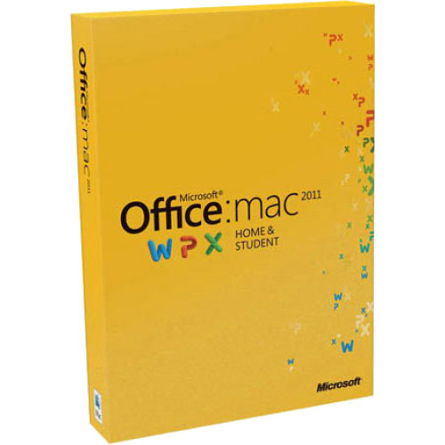GZA-00136 - Microsoft Office: mac 2011 Home and Student