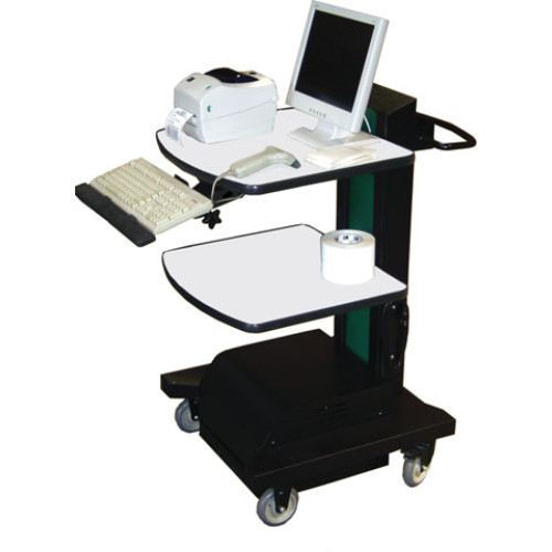NB440 - Newcastle Systems NB Series Workstation Mobile Cart
