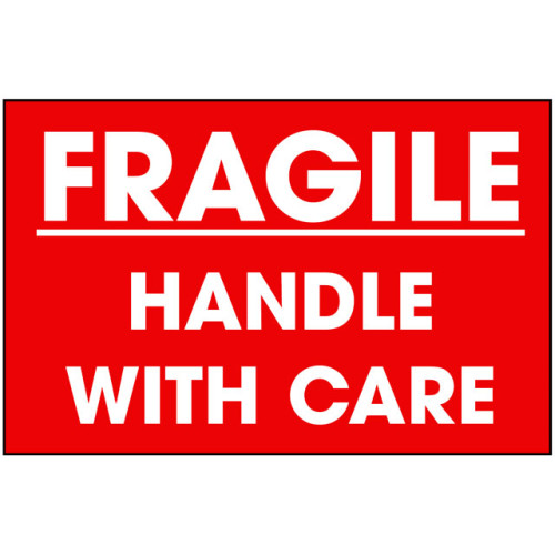 W3 - Packing Fragile Shipping Label