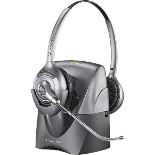 Plantronics CS361 Binaural SupraPlus Wireless Professional Headset System Voice Tube