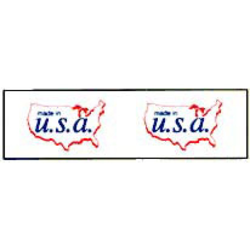 Printed Tape Made In USA Label