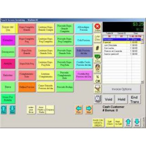 PCA-LIC-PRO-RPE - Restaurant Pro Express Restaurant Pro Express POS Software