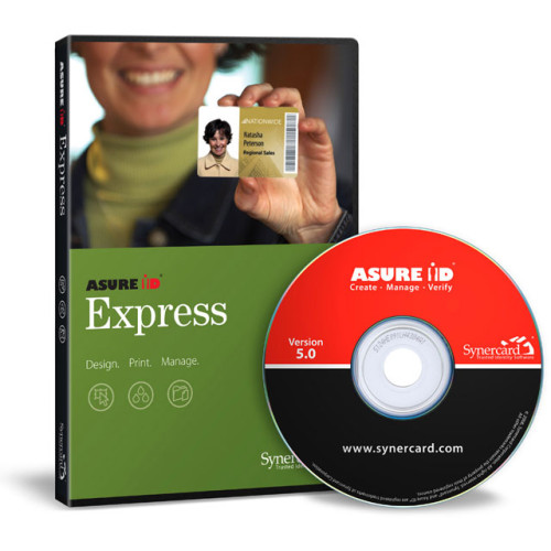 Synercard Asure ID Express ID Card Software