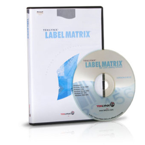 LM12PP5SB - Teklynx LABEL MATRIX 2012 Bar code Software