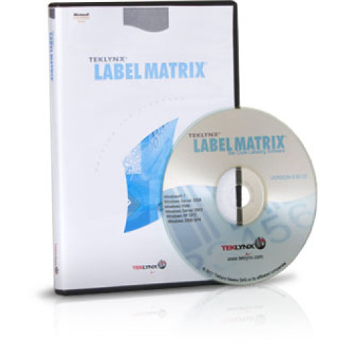 LM15PPP1U - Teklynx LABEL MATRIX 2015 Bar code Software