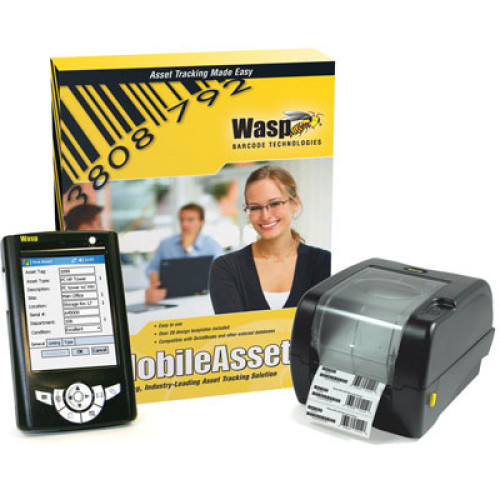 633808390990 - Wasp MobileAsset Professional Kit Asset Tracking Software