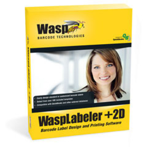 633808105365 - Wasp WaspLabeler +2D Bar code Software
