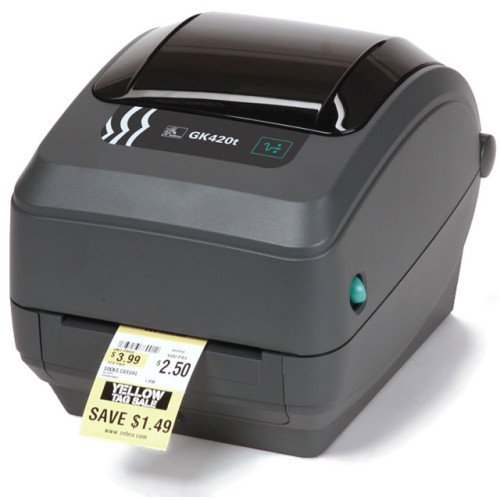 Download drivers for the Zebra GK420t Printer from Zebra